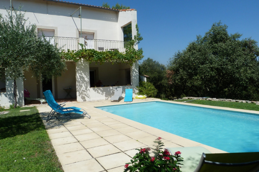 Holiday rentals Salinelles - House - 8 persons - Garden - Photo N° 1