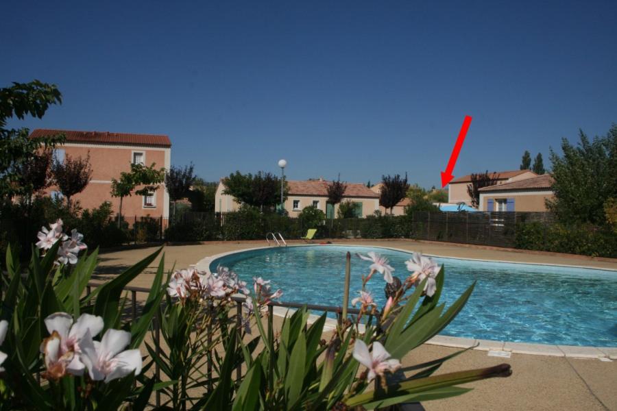Villa plain-pied, 2 chambres 2/5 pers,  beau jardin, dans résidence tranquille et sécurisée, proche Ventoux et Avignon