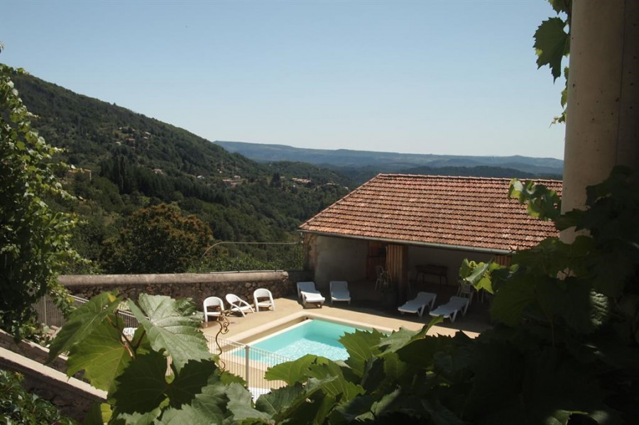 Holiday rentals Vals-les-Bains - Cottage - 6 persons - BBQ - Photo N° 1