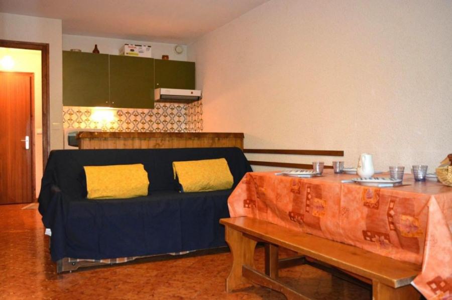 Appartement 1 pièce de 25 m² environ pour 4 personnes, résidence située au pied des pistes, face ...