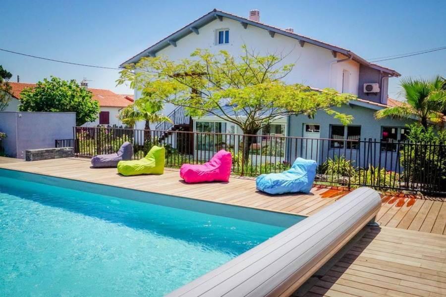 Location vacances Bidart -  Appartement - 6 personnes - Barbecue - Photo N° 1