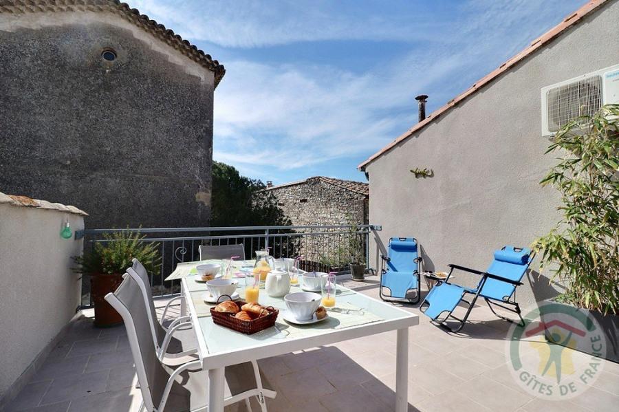 Ferienwohnungen Saint-Théodorit - Haus - 5 Personen - Grill - Foto Nr. 1