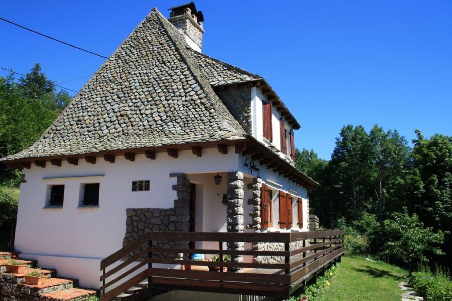 Location vacances Saint-Jacques-des-Blats -  Maison - 8 personnes - Barbecue - Photo N° 1