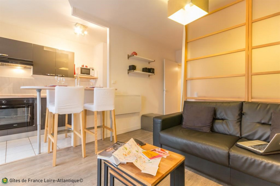 Holiday rentals Nantes - Apartment - 4 persons - Television - Photo N° 1