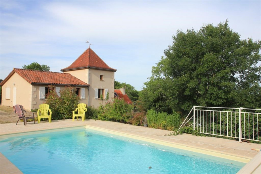 pour 10 pers. avec piscine privée, Saint-Jean-de-Laur
