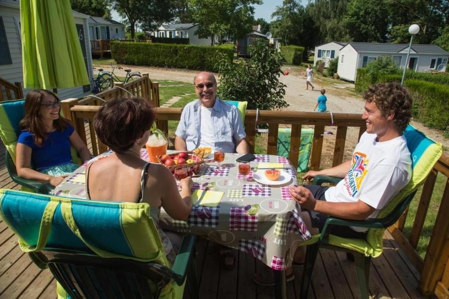Location vacances Villiers-le-Morhier -  Insolite - 8 personnes - Court de tennis - Photo N° 1