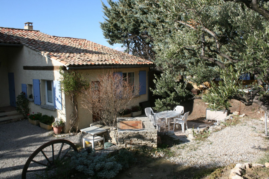 Location vacances Venterol -  Gite - 4 personnes - Barbecue - Photo N° 1
