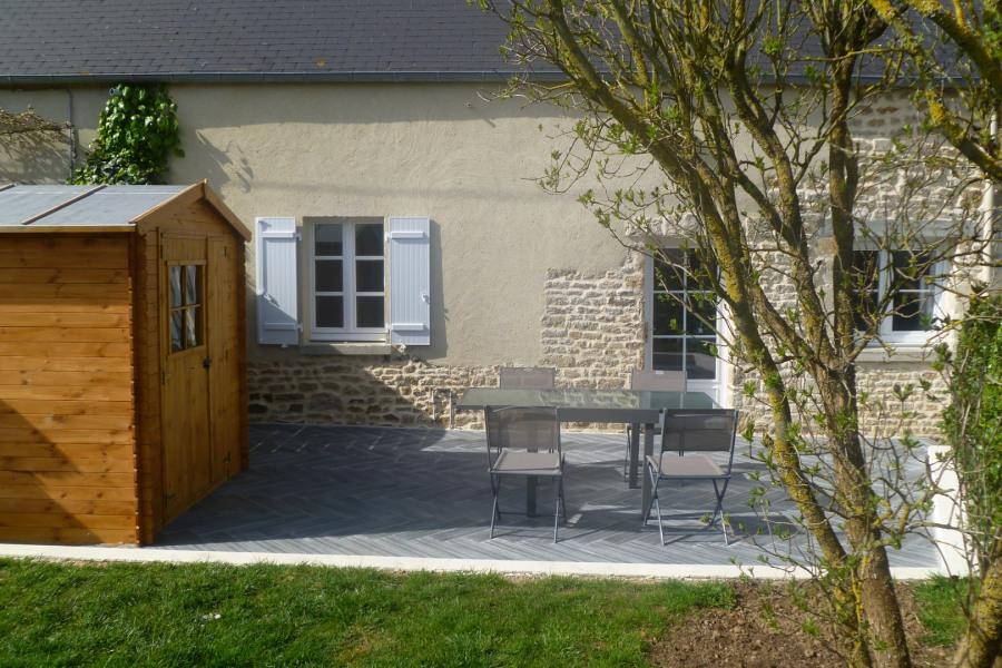 Ferienwohnungen Amfreville - Hütte - 4 Personen - Grill - Foto Nr. 1