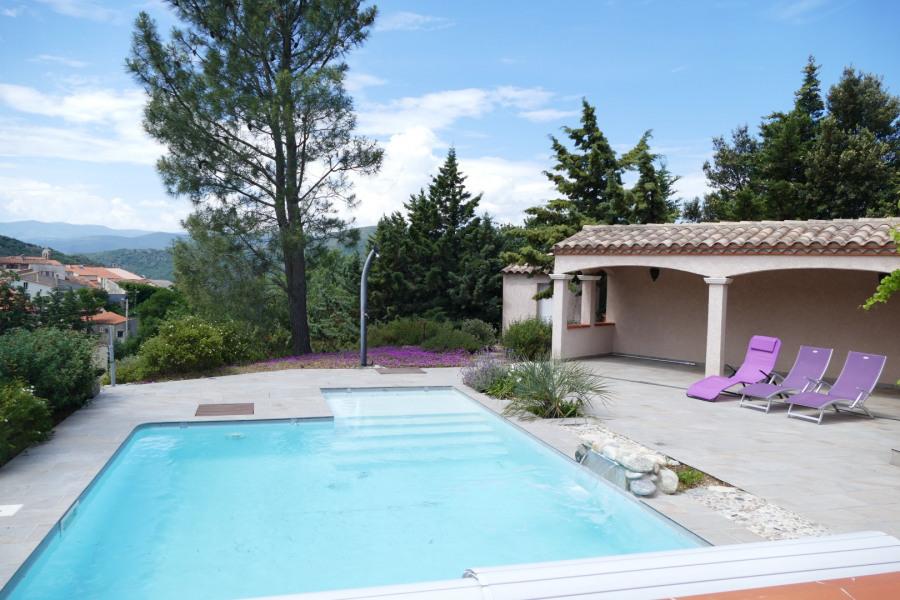 Villa dans le pays Cathare avec vues imprenables