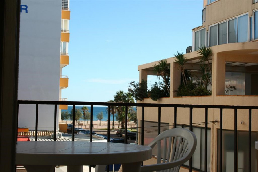Location vacances Rosas -  Appartement - 6 personnes - Salon de jardin - Photo N° 1