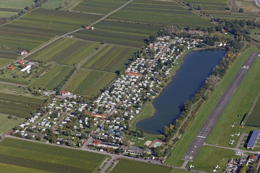 KNAUS Campingpark Bad Dürkheim, 516 emplacements, 23 locatifs