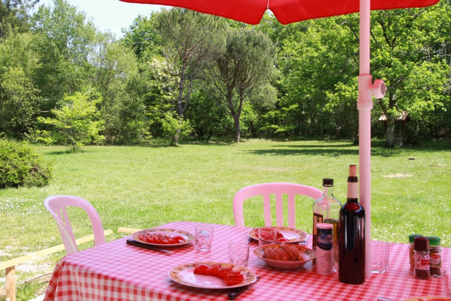 Location vacances Mios -  Gite - 6 personnes - Barbecue - Photo N° 1