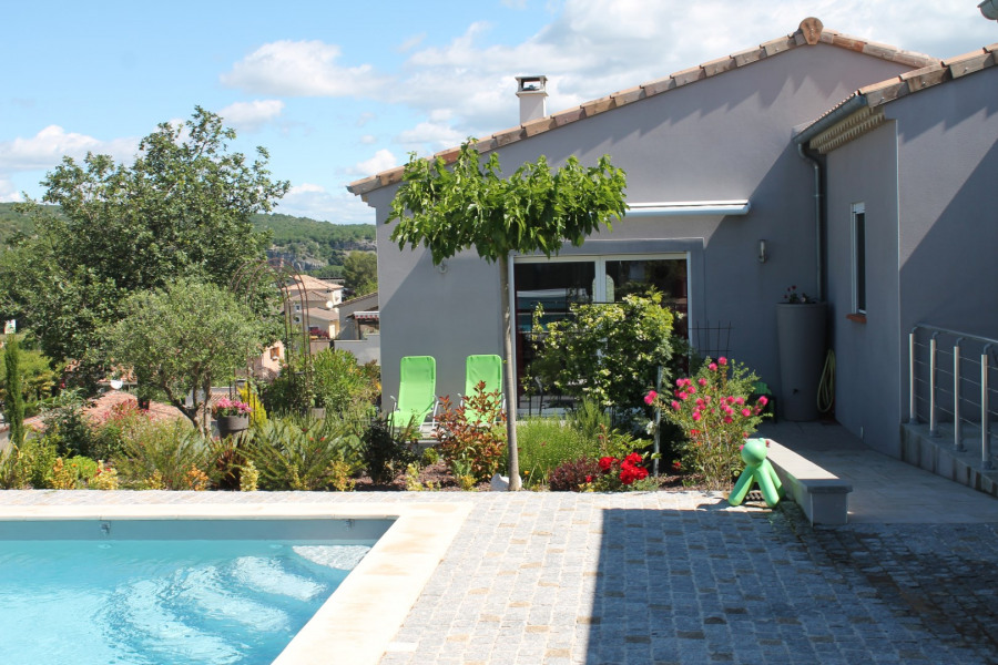 Holiday rentals Ruoms - House - 4 persons - Deck chair - Photo N° 1