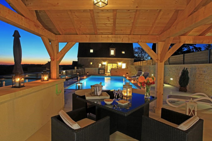 La Malonie - Pool House piscine privée