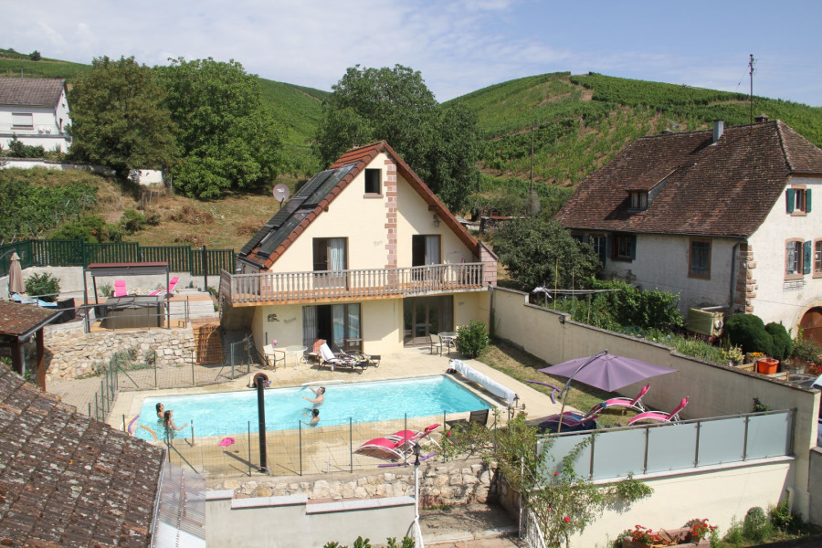 Holiday rentals Katzenthal - Cottage - 4 persons - BBQ - Photo N° 1