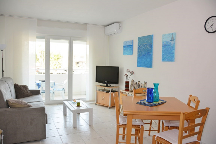 Alquileres de vacaciones Villeneuve-Loubet - Apartamento - 4 personas - Televisión - Foto N° 1