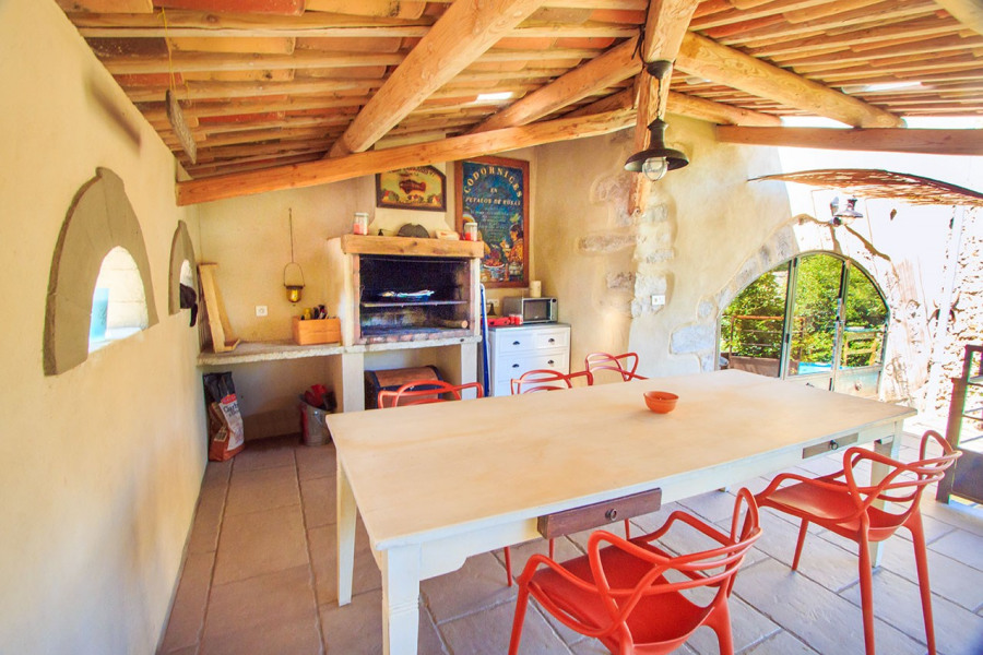 Location vacances Montolieu -  Gite - 6 personnes - Barbecue - Photo N° 1