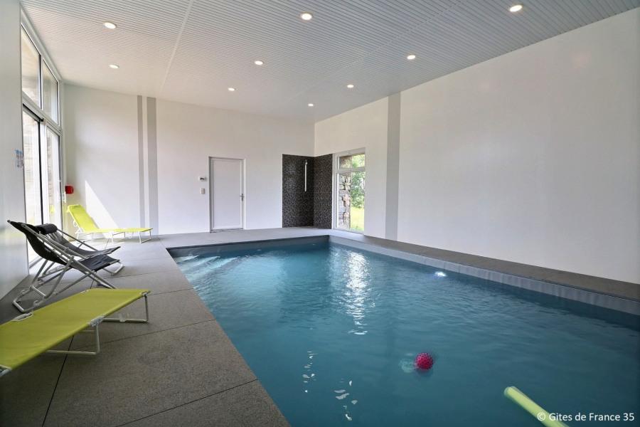 Gîte tout confort 8 personnes avec piscine intérieure privative - Saint-M'Hervé
