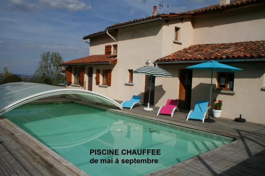 Location vacances Saint-Martin-la-Sauveté -  Gite - 12 personnes - Barbecue - Photo N° 1