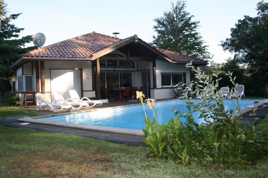 Superbe villa -5 chambres-piscine privée chauffée-wifi proximité plage et golf- conciergerie 7j /7- Moliets-et-Maa