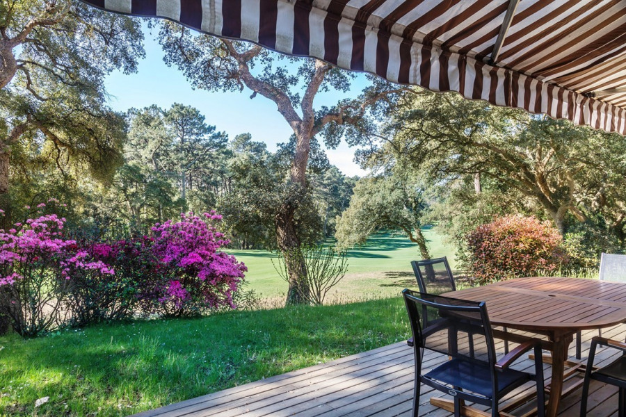 Villa AMA BORTZA en bordure du golf pour 7 personnes