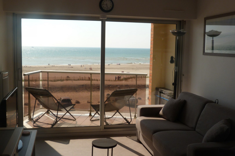 Holiday rentals Fort-Mahon-Plage - Apartment - 4 persons - Garden furniture - Photo N° 1