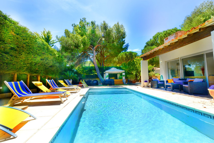 Location vacances Agde -  Maison - 12 personnes - Barbecue - Photo N° 1