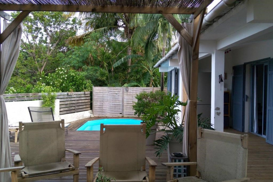 Grande terrasse piscine