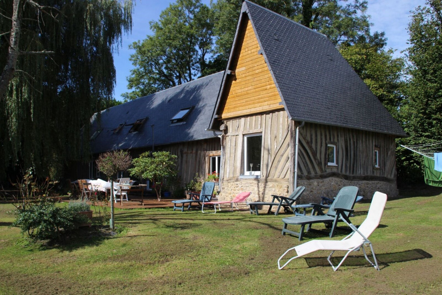 Holiday rentals Honfleur - Cottage - 15 persons - BBQ - Photo N° 1