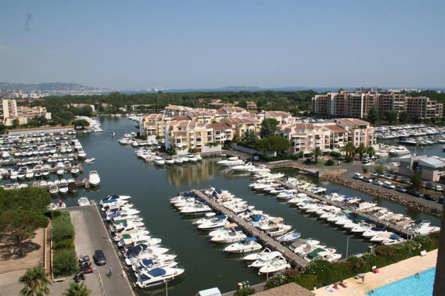 vue baie de Cannes de la terrasse