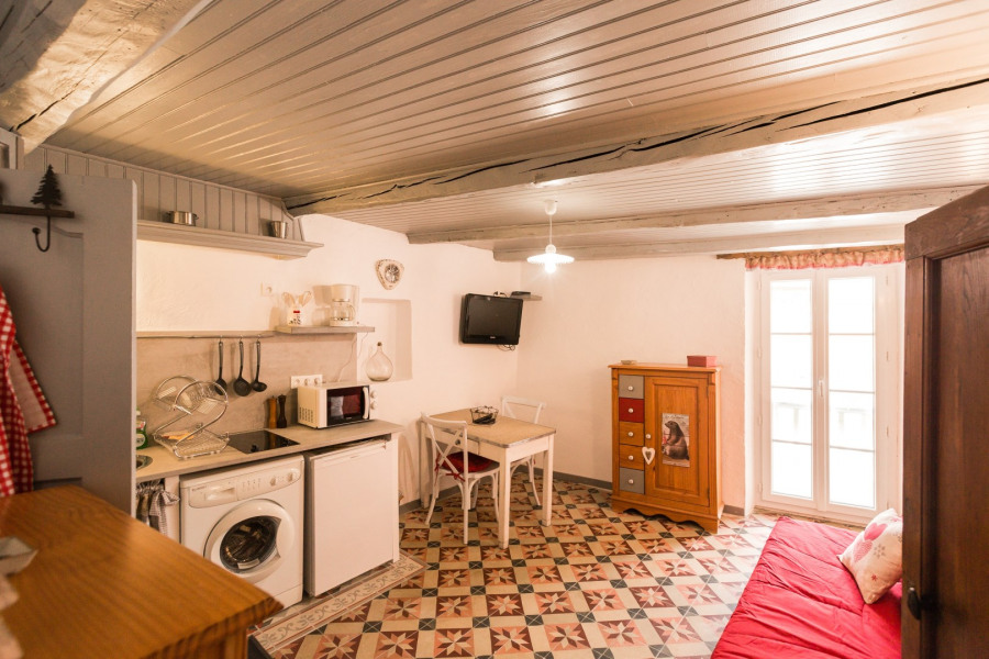 Holiday rentals Saint-Martin-Vésubie - Apartment - 2 persons - Yard - Photo N° 1