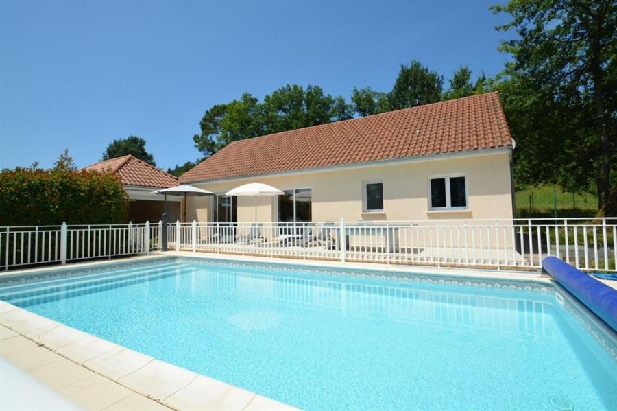 Villa pour 6 pers. avec piscine privée, Cublac