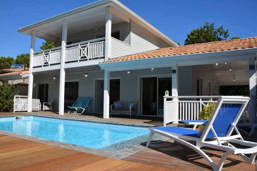 Holiday rentals Carcans - House - 10 persons - BBQ - Photo N° 1