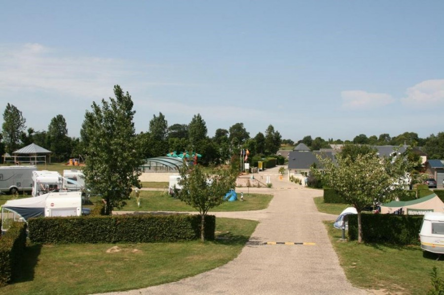 Camping Airotel L'Aiguille Creuse, 80 emplacements, 18 locatifs