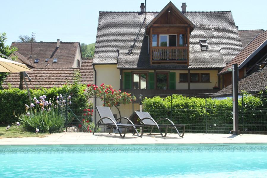 Ferienwohnungen Katzenthal - Hütte - 4 Personen - Grill - Foto Nr. 1