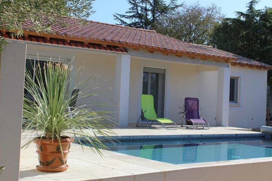 Villa pour 6 pers. avec piscine privée, Uzès