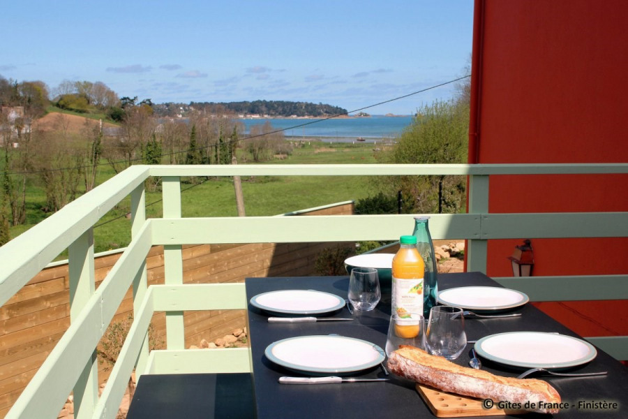 Holiday rentals Carantec - House - 8 persons - BBQ - Photo N° 1