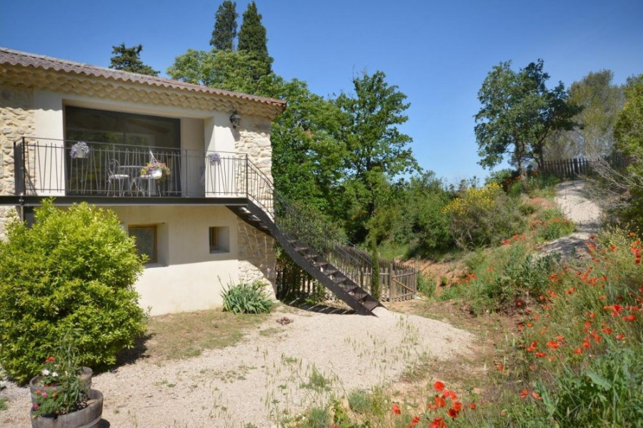 Location vacances Meyrargues -  Gite - 4 personnes - Barbecue - Photo N° 1