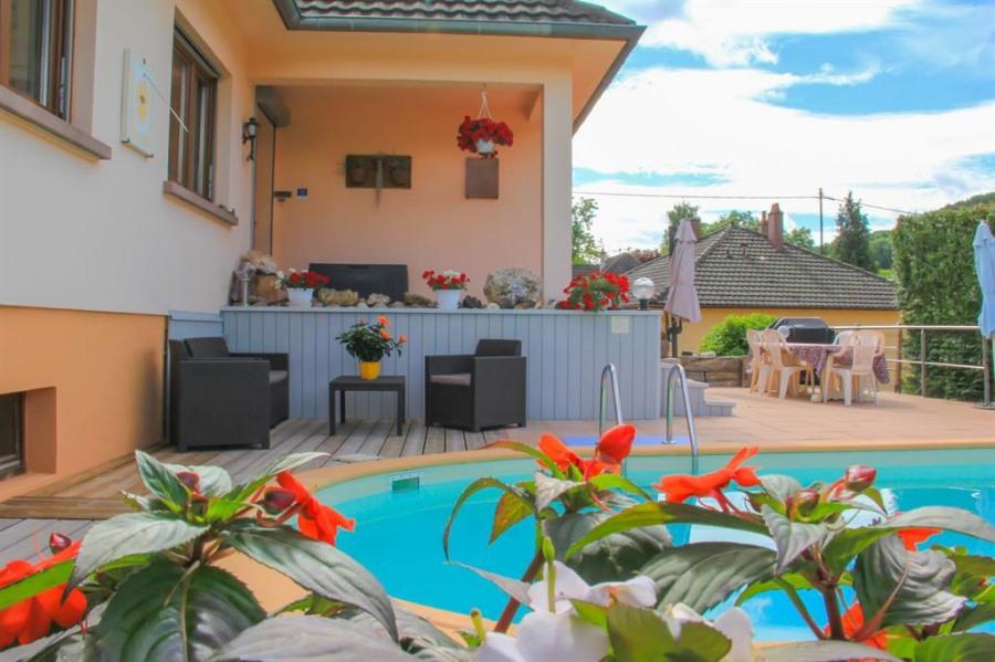 Appartement pour 3 pers. avec piscine, Rombach-le-Franc