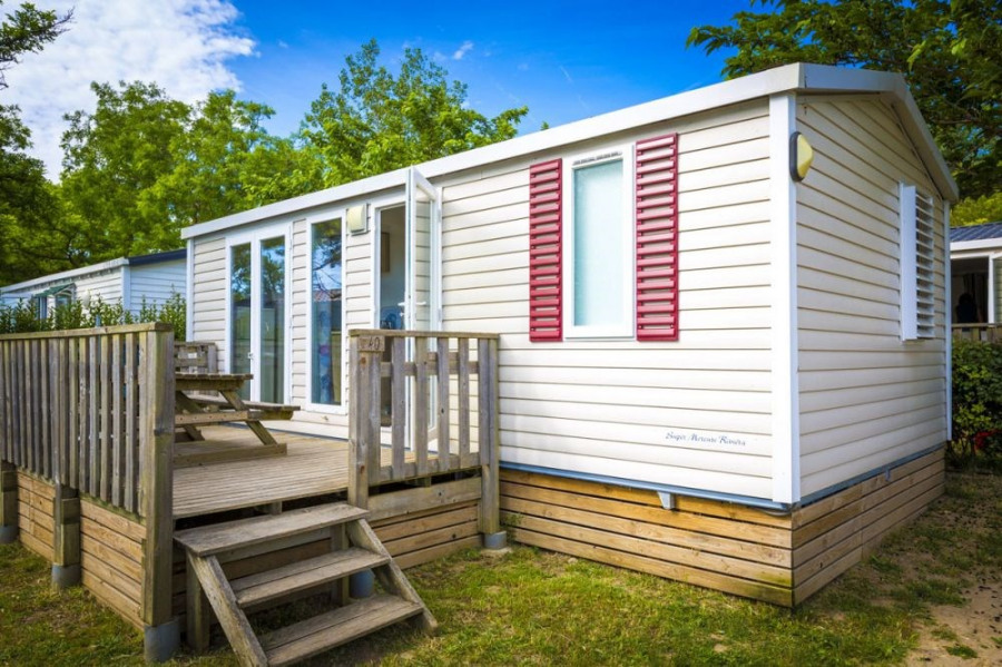 Mobile-home 3 chambres