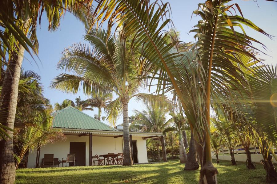 Villa créole avec piscine à deux pas du lagon