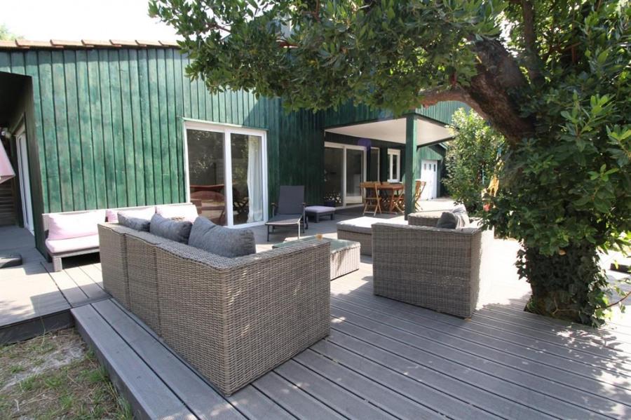Location vacances Lège-Cap-Ferret -  Maison - 7 personnes - Barbecue - Photo N° 1