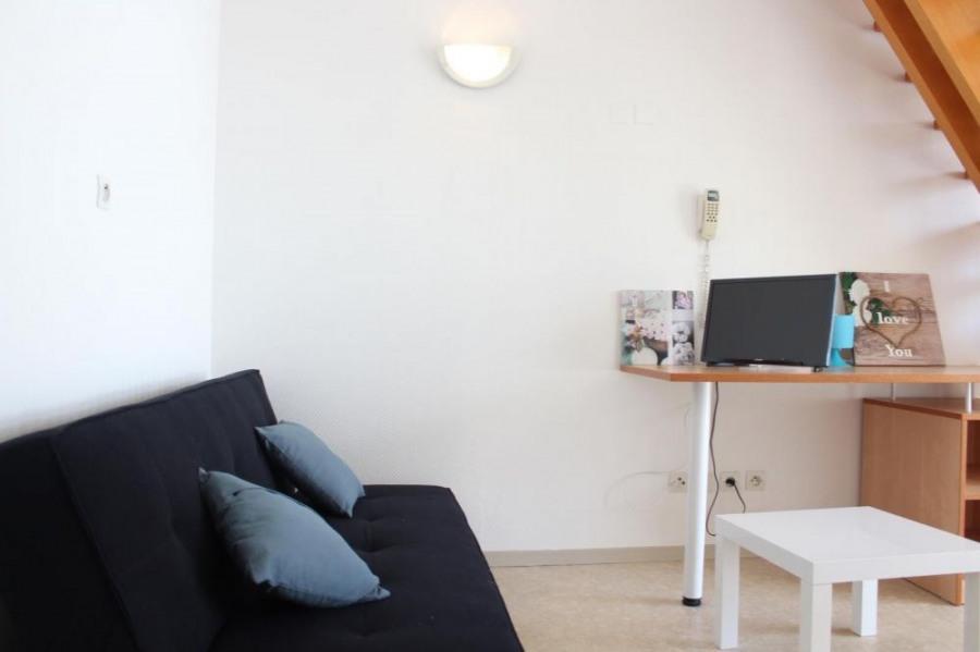 Appartement studio mezzanine - 28 m² environ - jusqu'à 3 personnes