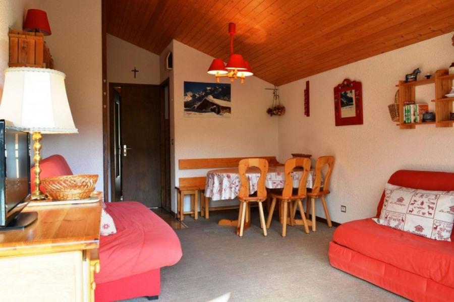 Appartement 1 pièce de 25 m² environ pour 4 personnes, Résidence située au pied des pistes.