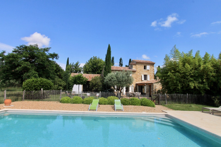 Holiday rentals Beaumes-de-Venise - House - 8 persons - BBQ - Photo N° 1