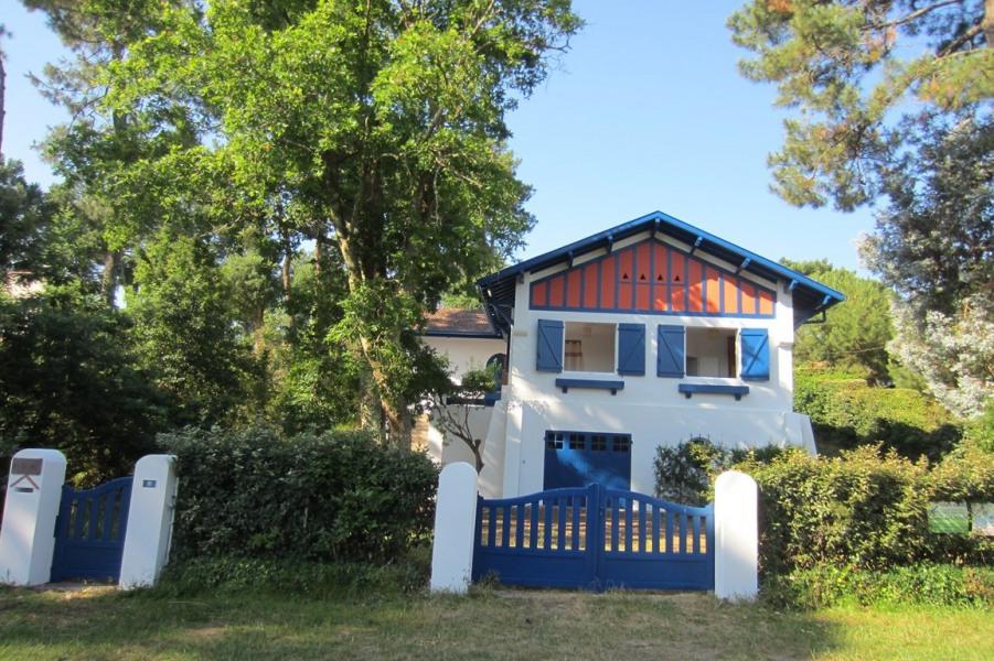 Villa LOUSTAL avec piscine entre lac et océan pour 8 personnes