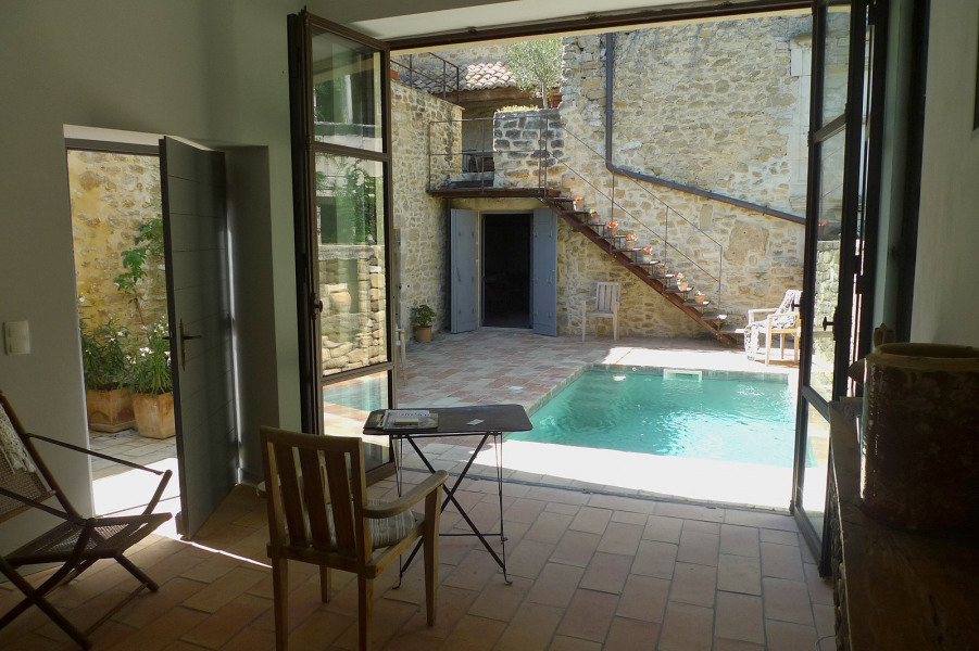 Holiday rentals Rochegude - House - 6 persons - BBQ - Photo N° 1