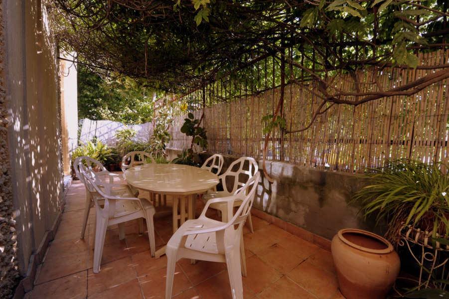 Location vacances Ajaccio -  Appartement - 6 personnes - Salon de jardin - Photo N° 1