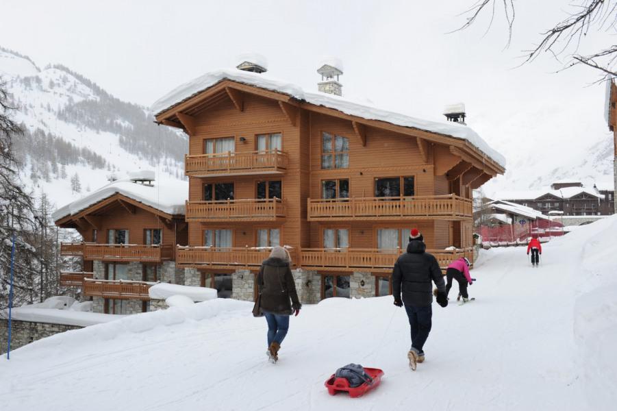 Location vacances Val-d'Isère -  Appartement - 6 personnes - Chaise longue - Photo N° 1