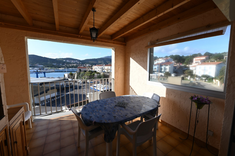 Location vacances Port-Vendres -  Appartement - 5 personnes - Barbecue - Photo N° 1